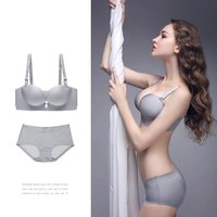 Pearlescent grey-palm micisty underwear suit